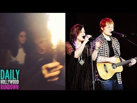 Justin Bieber & Selena Go Clubbing (VIDEO)- Demi Lovato & Ed Sheeran Surprise Performance! (DHR)