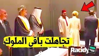 مراة رئيس فرنسا لصقت مع الملك محمد السادس  و تركت باقي الحضور 2.15 MB