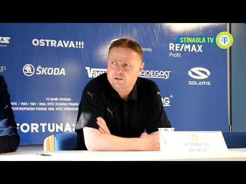 Tisková konference po zápase v Ostravě (7.4.2019)