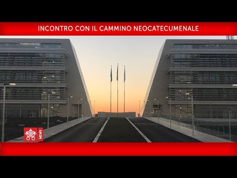 Papa Francesco - Incontro con il Cammino Neocatecumenale 2018-05-05