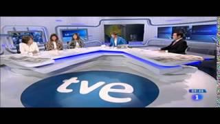 María Casado rompe a llorar en directo en
