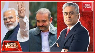 Does Nirav Modi's Arrest Boost PM Modi's Chowkidar Image? | News Today With Rajdeep