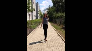 Anna Haftenberger catwalk video by vivienne models