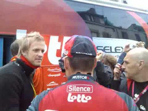 Cadel Evans Tour de France 2008 Autograph