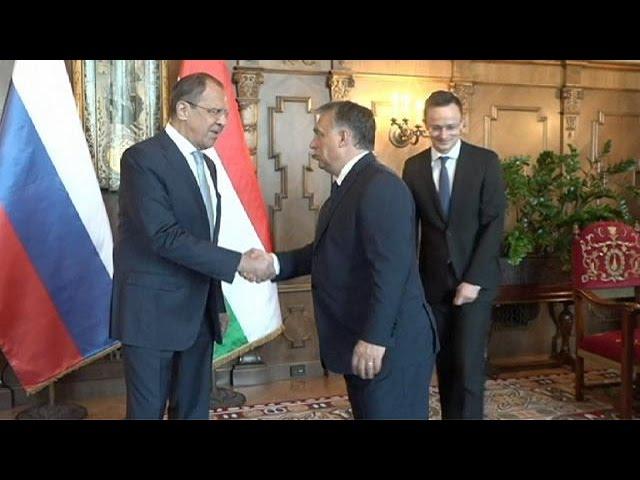 Lavrov visita Hungría con la vista puesta en las sanciones de la UE a Rusia