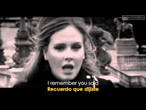 Adele ~ Someone Like You (lyrics Sub. Spanish español) [hd] Official Video ✔ video