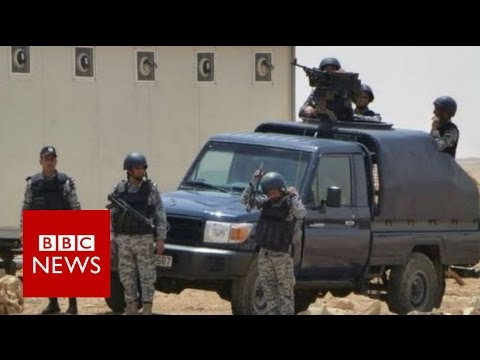 Jordan officers killed in attack at Baqaa camp near Amman - BBC News
