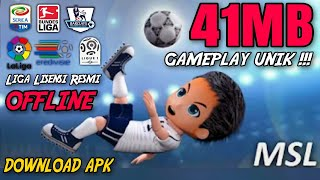 Review Mobile League Soccer 2020 Offline Apk | Gameplay Unik & Lucu Android 2019 | Bahasa Indonesia