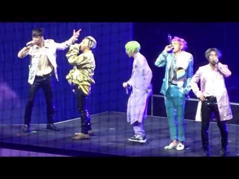 170108 - Opening + Heaven - BIGBANG 10 0 to 10 Final in Seoul - fan cam
