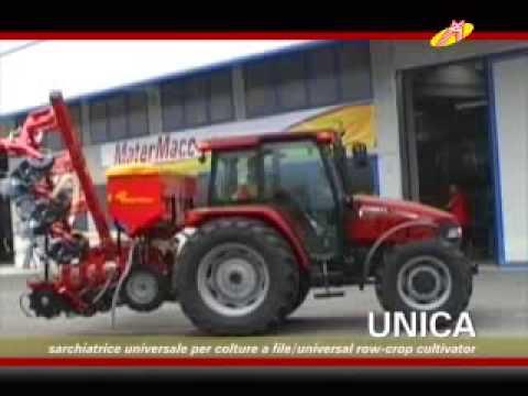 MaterMacc UNICA, sarchiatrici, weeders, planter, sämaschine, semoir, sembradora, сеялка