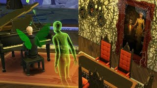 Haunted House & Pumpkin Patch ! Fairy Family SIMS 4 Game Let's Play  Video Part 50