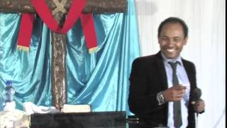 Pastor Henok, Zemari Biniyam and Bethelhem in Gofa Medhanialem Church part 4