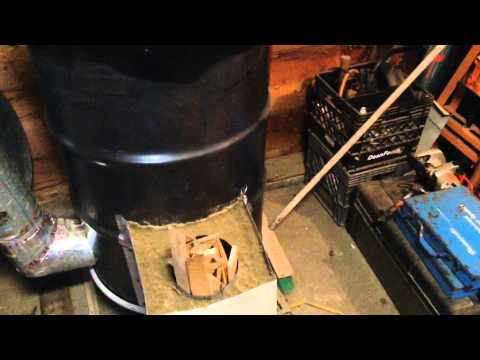 Rocket Mass Heater/Stove another Prepper's Must Have
