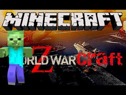 Minecraft World War Z Zombie Apocalypse - Run For Your Life