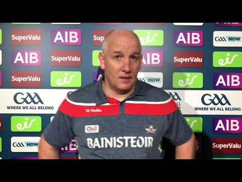 Cork Manager Ronan McCarthy reacts to defeat to Dublin in the All-Ireland SFC Quarter-Finals