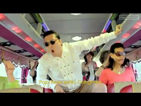 Gangnam Style Official Music Video - 2012 PSY with Oppan Lyrics...