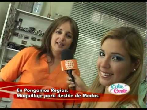 Pongamonos Regias: Maquillaje para pasarela