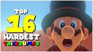 Top 16 Hardest Trickjumps - Super Mario Odyssey