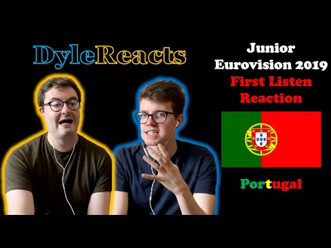 Junior Eurovision 2019 - Portugal - REACTION #DyleReacts