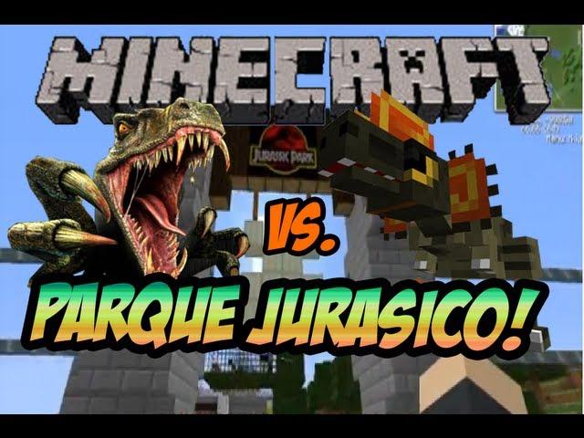Jurassic Park in Minecraft!! Mod de Arqueología