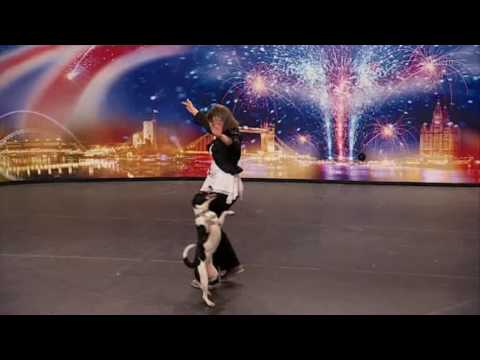 Jackie Prescott & Tippy Toes (hq) Britain's Got Talent 2009 video