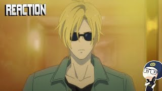 Banana Fish Episode 12 REACTION - All Business