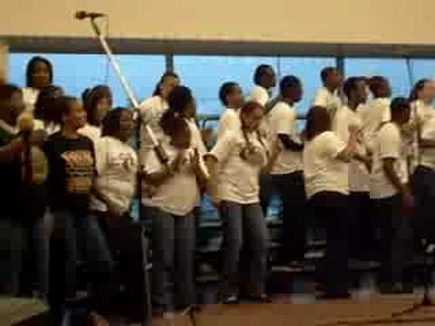 Holy One - Duval High School Gospel Choir!! video