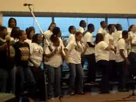 Holy One - Duval High School Gospel Choir!! video