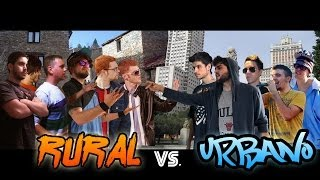 Youtuber Rural vs. Youtuber Urbano