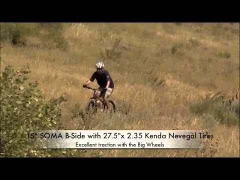 Test Ride 650B Mountain Bike. 27.5