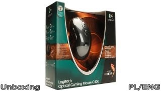 Logitech Optical Gaming Mouse G400 - Unboxing PL/ENG