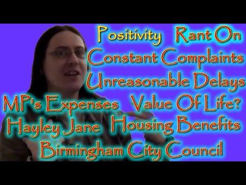 Positivity Rant On Housing Benefits Birmingham City Council Unreasonable Delays Finally a Response