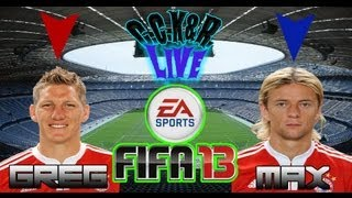 Bayern vs Real Madrid - FIFA 13 with GRAX (First Half)