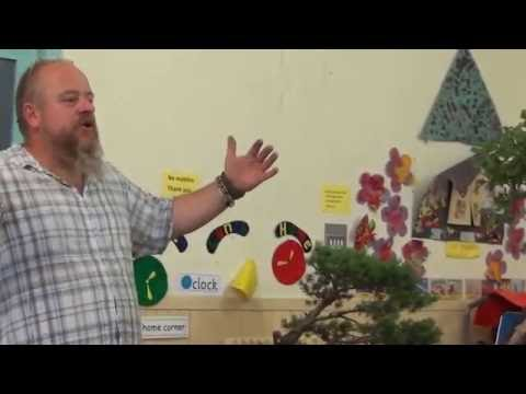 Graham  Potter at the Middlesex Bonsai Society Part 2