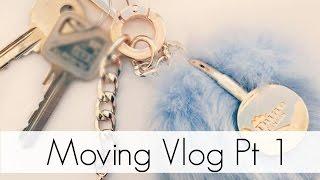 ♡ Moving In Day Vlog Pt1| 2016 ♡