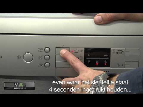 Bosch afwasmachine problemen