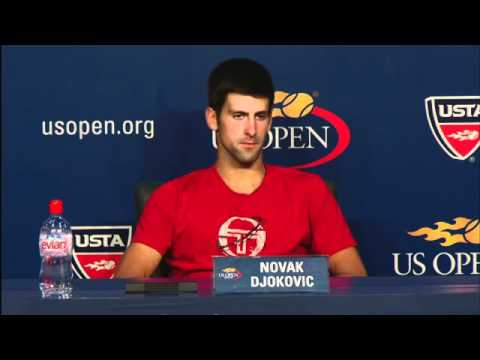 2010 US Open Press Conferences: Novak Djokovic (First Round) Video