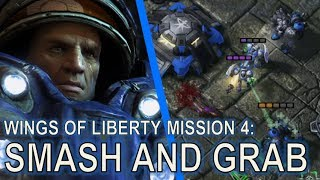 Starcraft II: Wings of Liberty Mission 4 - Smash and Grab