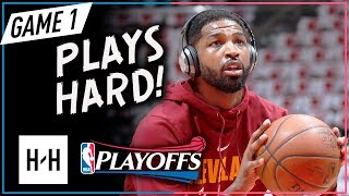 Tristan Thompson Full Game 1 Highlights Cavs vs Raptors 2018 Playoffs ECSF - 14 Points, 12 Reb!