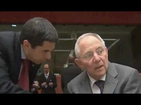 Vítor Gaspar & Wolfgang Schäuble: The body language of the Petitioner & the Petitioned