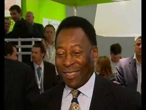 Pele talks about the 2014 World Cup