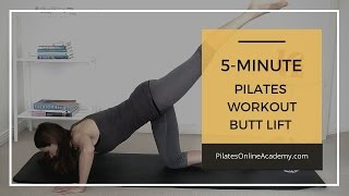 5 Minute Butt Lift Workout