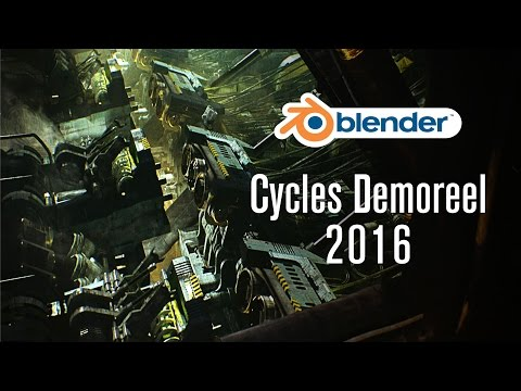 Cycles Demoreel 2016