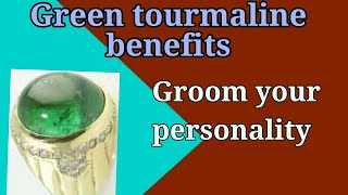 What is Green Tourmaline good for? (Amazing Benefits )...By   #GemStoneDeal