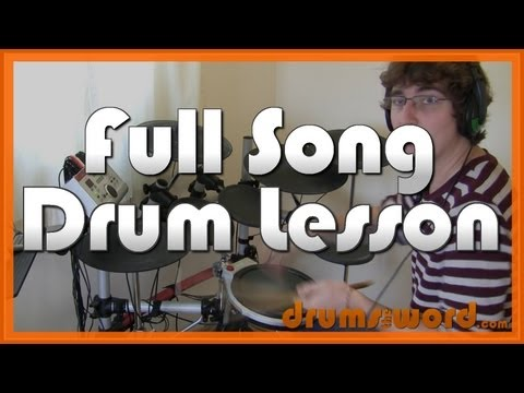 ★ American Idiot (green Day) ★ Drum Lesson Preview | How To Play Song (tre Cool) video