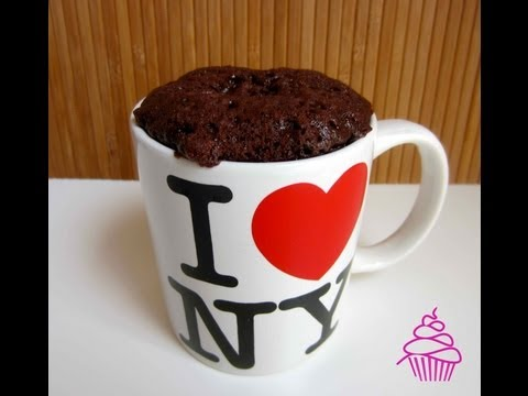 Brownie en una taza en 2 minutos. Repostería