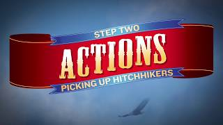 8. The Oregon Trail: Willamette Valley -Take 3 Actions - Picking Up Hitchhikers