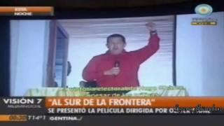 """""""Al Sur de la Frontera"""",Oliver Stone en Argentina, presentó  su película-"""