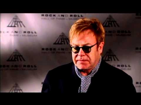 Elton John on Leon Russell at the 2011 Inductions