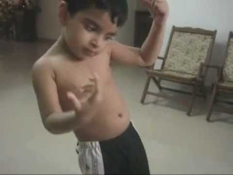 Kid Dancing To Neevan Nigam's why This Kolaveri  Song Abhinav video